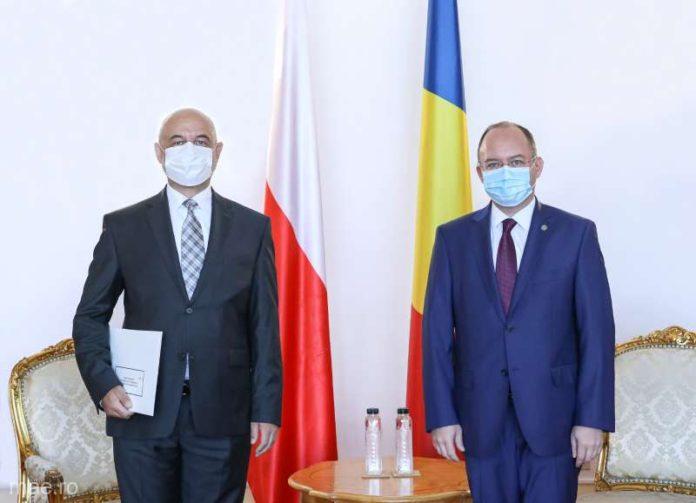 Aurescu subliniază necesitatea impulsionării schimburilor economice şi a investiţiilor reciproce cu Polonia