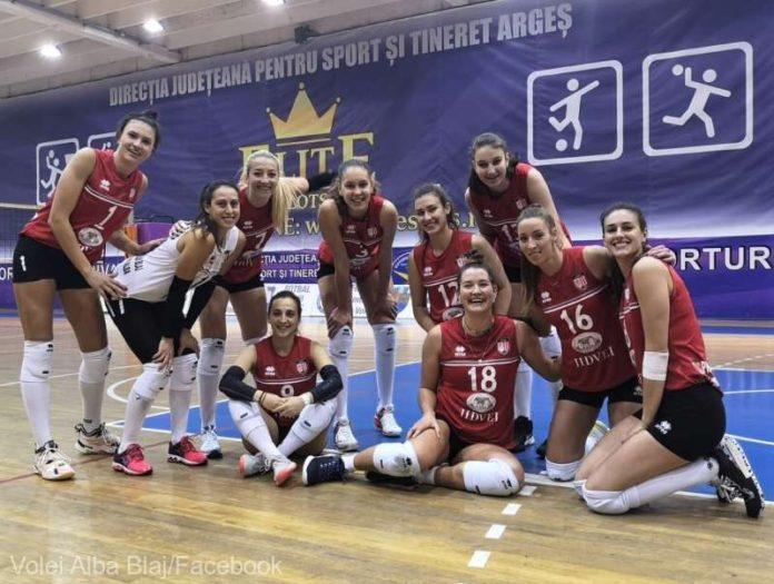 Volei feminin: Victorie facilă pentru CSM Volei Alba Blaj, în Divizia A1
