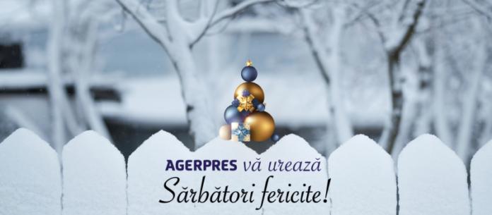 AGERPRES vă urează un An Nou fericit, cu sănătate şi prosperitate
