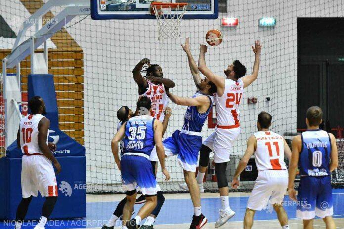 Baschet masculin: Dinamo a învins-o dramatic pe SCMU Craiova, în campionat