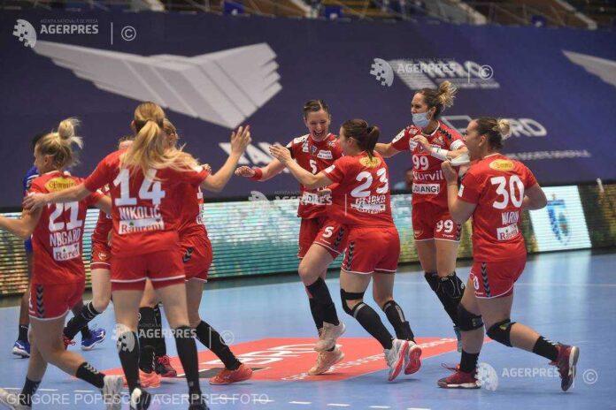 Handbal feminin: SCM Râmnicu Vâlcea, a doua victorie consecutivă în Liga Campionilor