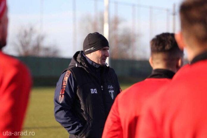 VIDEO Fotbal: UTA Arad a demarat pregătirile pentru partea a doua a sezonului